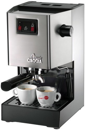 Gaggia Classic Espresso Machine (Stainless Steel)