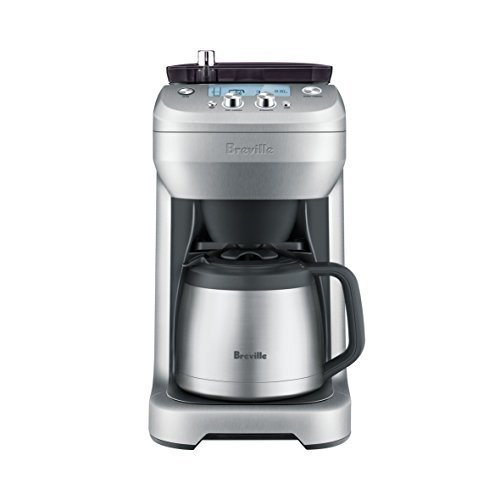 Breville BDC650BSS Grind Control Silver Coffee Maker