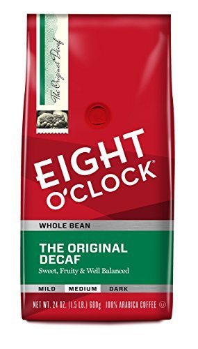 Eight O'Clock Whole Bean Coffee—The Original Decaf