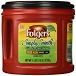 Folgers Simply Smooth Ground Coffee, Medium Roast, 31.1 oz. 150
