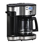 Hamilton Beach 49980A Single Serve Coffee Brewer and Full Pot Coffee Maker 150