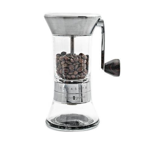 Handground Precision Coffee Grinder- Manual Ceramic Burr Mill 01