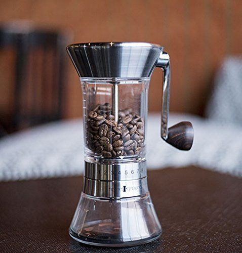 Handground Precision Coffee Grinder- Manual Ceramic Burr Mill 04