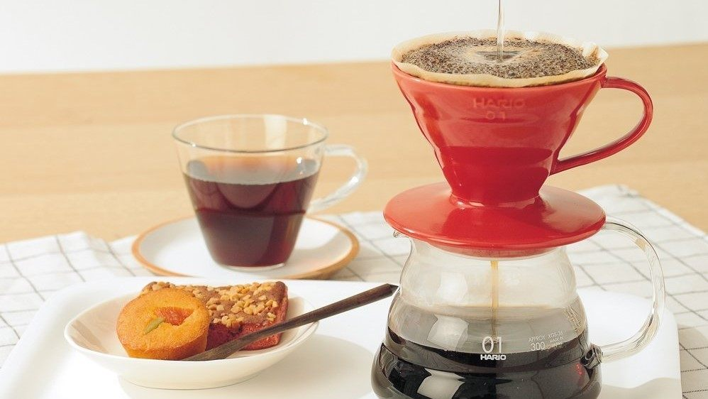 Hario V60 Coffee Dripper Header 2