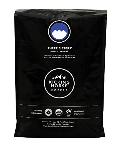 Kicking Horse Coffee, Three Sisters, Medium Roast, Whole Bean