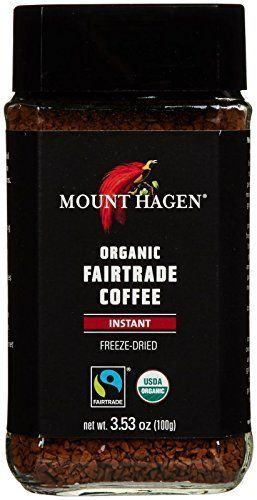 Mount Hagen Organic Freeze Dried Instant Coffee, 3.53 oz.