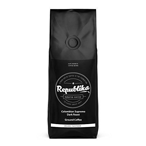 Republika Coffee Fairtrade Low-Acid Organic Coffee, 2-lb.