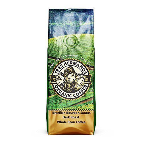 Tres Hermanos Fairtrade Low-Acid Organic Coffee, 2 lb