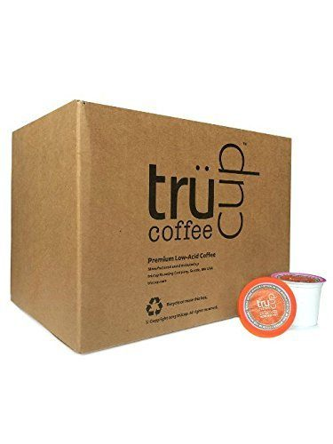 trücup Low Acid Coffee K-Cups, Stuck in the Middle Medium Roast, 48 Count (Recyclable)