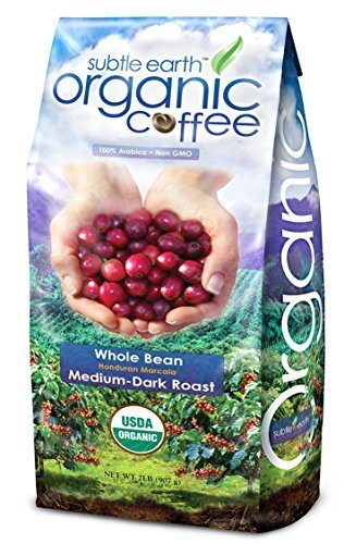 2LB Cafe Don Pablo Subtle Earth Organic Gourmet Coffee - Medium-Dark Roast