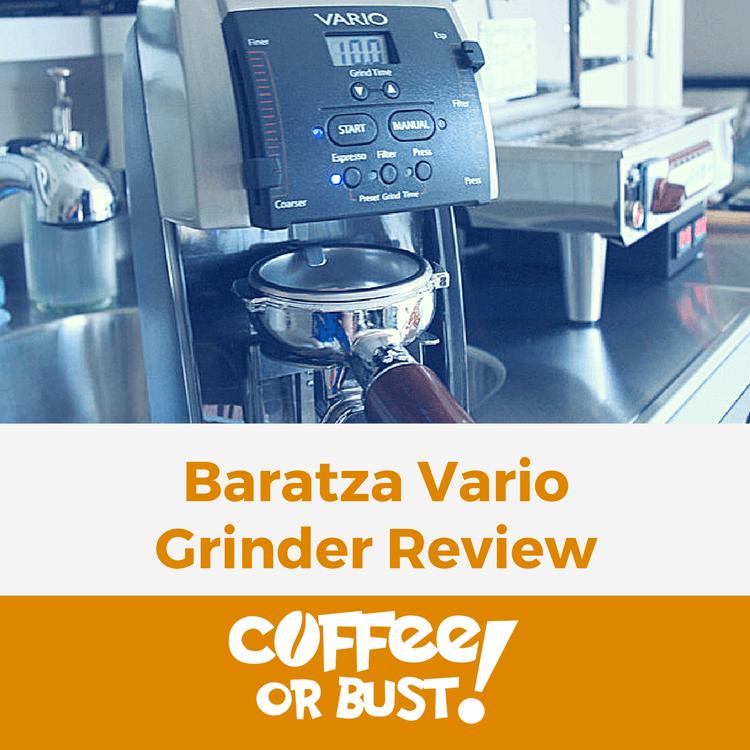 Baratza Vario Grinder Review