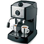 DeLonghi EC155 15-bar pump Espresso and Cappuccino Maker 150