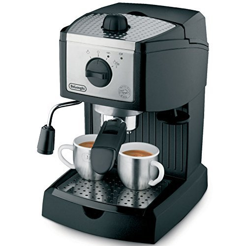 DeLonghi EC155 15-bar pump Espresso and Cappuccino Maker