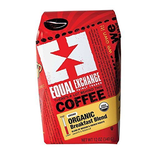 Equal Exchange Organic Coffee, Breakfast Blend