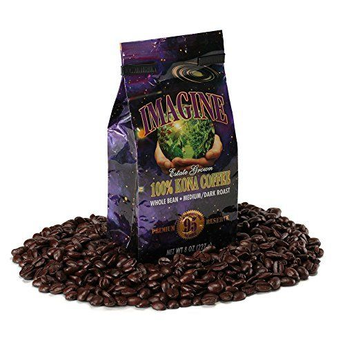 Imagine Kona Coffee Beans