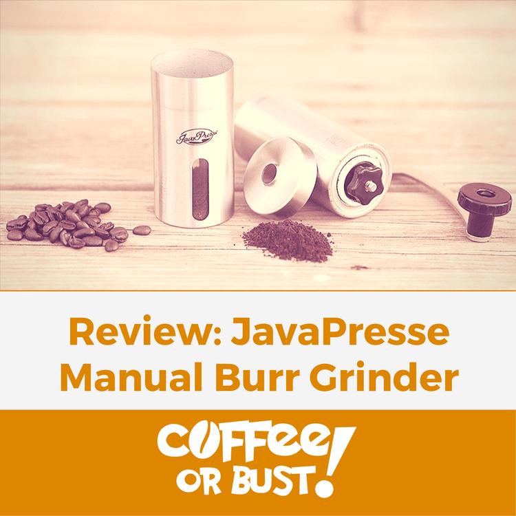 Javapresse Manual Burr Coffee Grinder Review