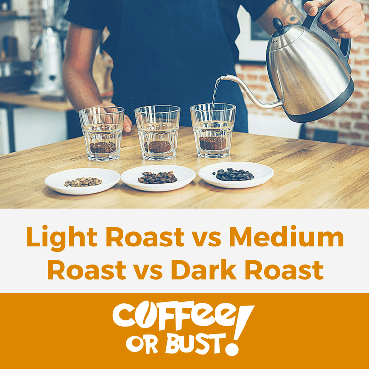 Light Roast vs Medium Roast vs Dark Roast
