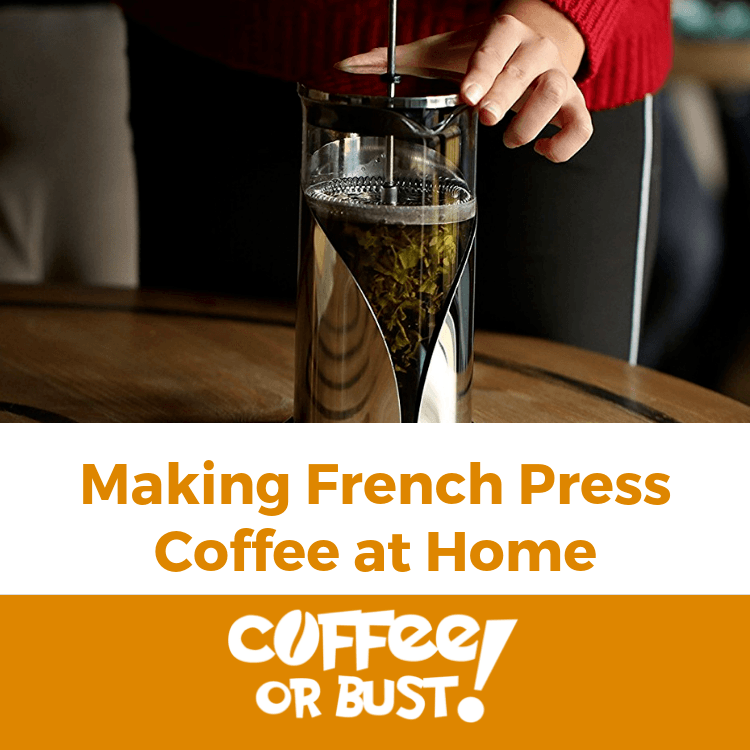 Make French Press Coffee at Home
