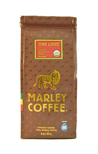 Marley Coffee, Organic One Love, Ethiopian YirgaCheffe, Ground Coffee