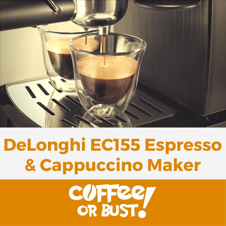 Review_ DeLonghi EC155 15-bar pump Espresso and Cappuccino Maker
