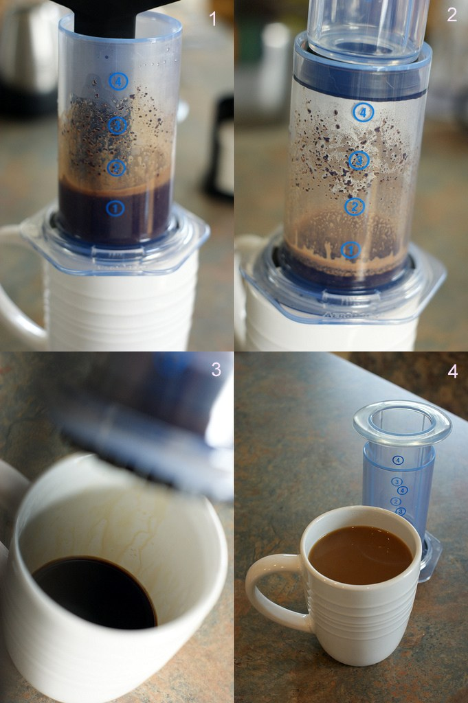 AeroPress_coffee_making