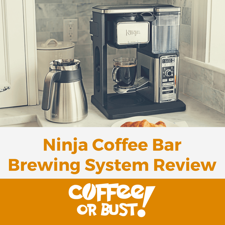 Review Ninja Coffee Bar Brewing System Coffeeorbust Com