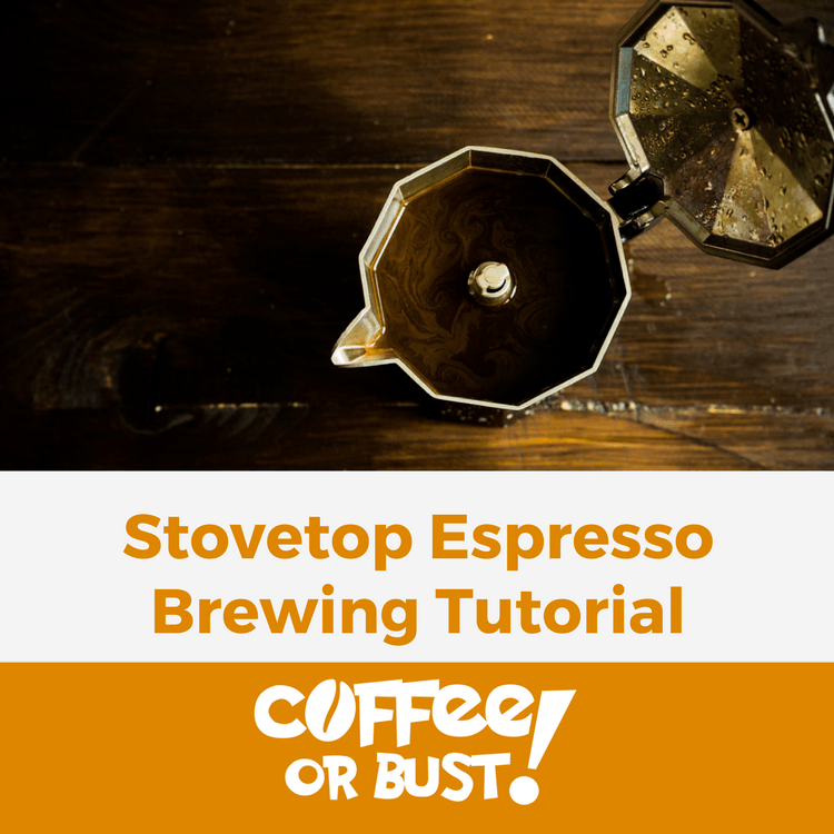 Stovetop Espresso Brewing Tutorial - Moka Pot Method