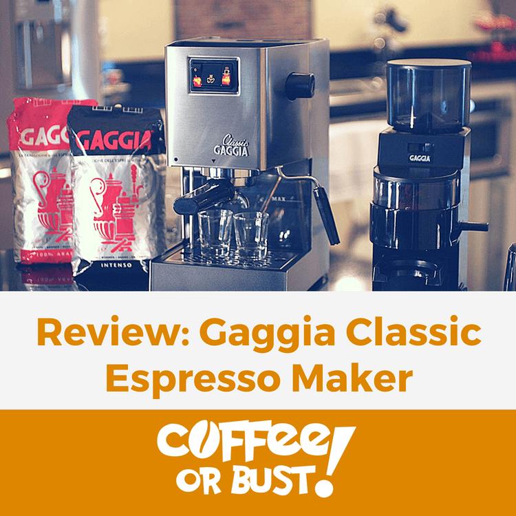 Review_ Gaggia Classic Espresso Maker FI