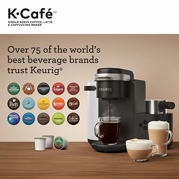 K Cafe Coffee Shot Compatibility