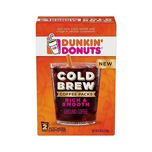 Dunkin Donuts Cold Brew Coffee Pack