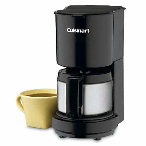 Cuisinart DCC-450BK 4-Cup Coffeemaker with Stainless-Steel Carafe