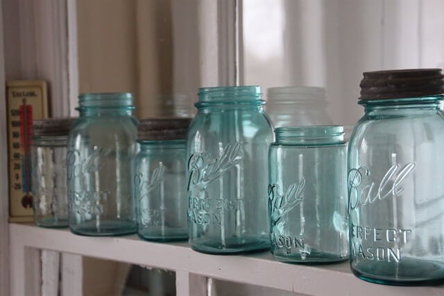 Faux French Press Jars