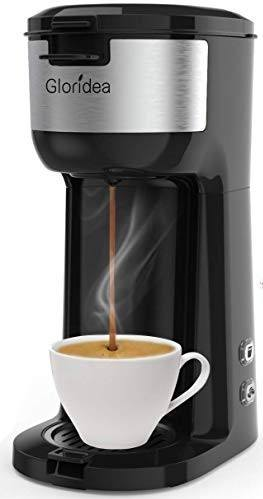 The Gloridea Single-Serve Coffee Machine