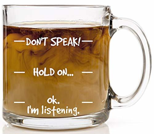 Don't Speak! Funny Coffee Mug