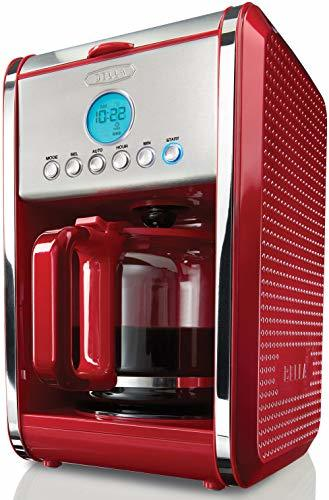BELLA 13839 Dots Collection 12-Cup Programmable Coffee Maker