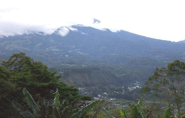 Volcan Baru Tallest Mountain in Panama Home of Geisha Coffee
