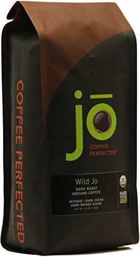 WILD JO 12 oz, Dark French Roast Organic Coffee