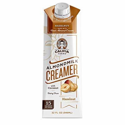 Califia Farms Hazelnut Almondmilk Coffee Creamer with Coconut Cream