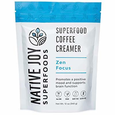 Native Joy Superfoods - Zen Focus Coffee Creamer