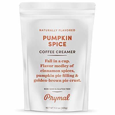 PRYMAL Coffee Creamer Pumpkin Spice Flavor