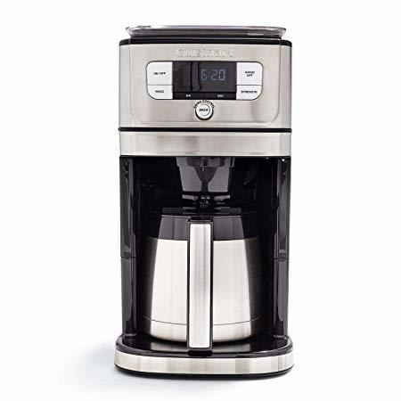 Cuisinart Fully Burr Thermal Grind & Brew Automatic Coffeemaker