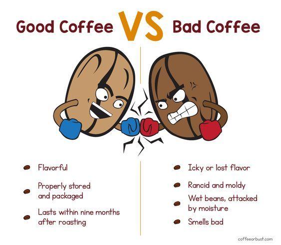 Good Coffee vs Bad Coffee How Long Does Coffee Last