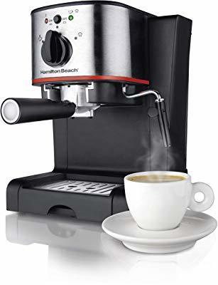 Hamilton Beach Espresso, Latte and Cappuccino Machine with Milk Frother