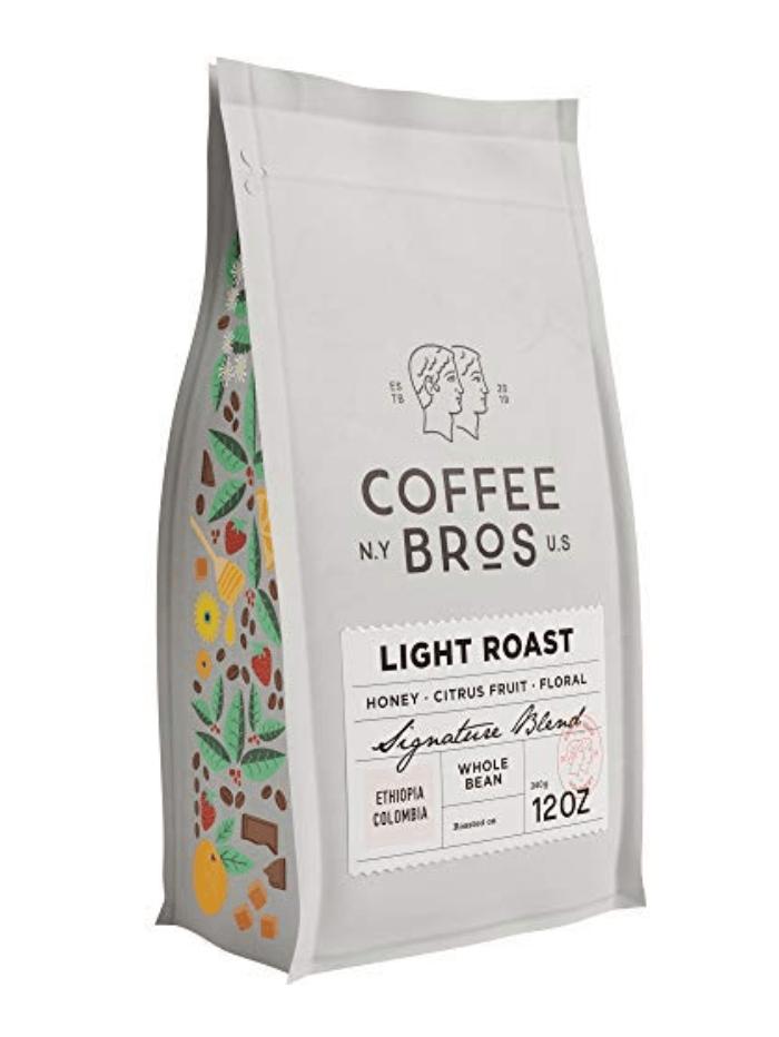 Coffee Bros Light Roast Whole Bean