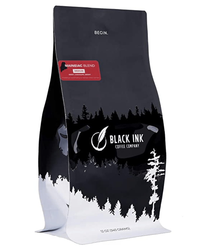 Maineiac Blend Whole Coffee Beans Medium Roast